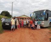 As pessoas da Melhor Idade de Itajá ganharam um dia de Lazer no Clube Pirizal em Lagoa Santa