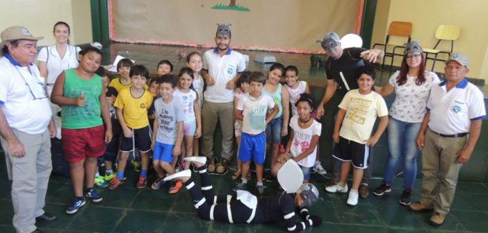 O combate a DENGUE virou peça de teatro nas Escolas do município de Itajá