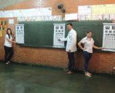 Alunos do Ensino Fundamental de Itajá recebem acompanhamento Oftalmológico