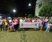 """A Superintendência de Saúde realizou caminhada simbolizando o """"Outubro Rosa"""""""