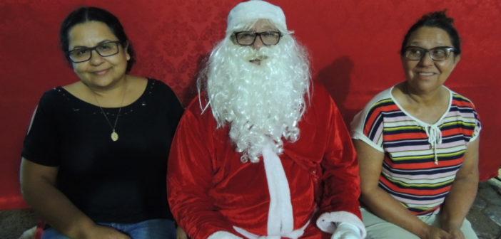 Papai Noel na Feira do Produtor em Itajá