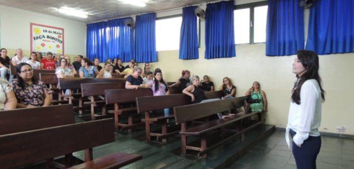 Início do Trabalho Pedagógico – 2019 nas escolas de Itajá/GO