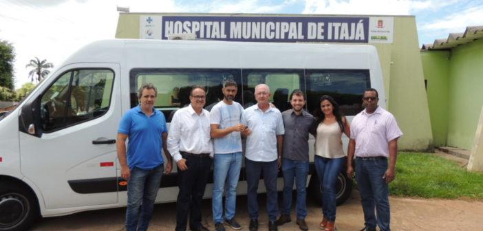 Prefeitura de Itajá adquiriu mais um veículo