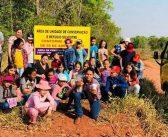 """Alunos da Escola Anhanguera visitaram a área da """"Reserva Ambiental"""" em Itajá"""