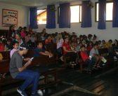 Palestras sobre queimadas na Escola Anhanguera